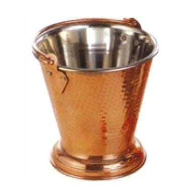 Hammered Copper Steel Balti