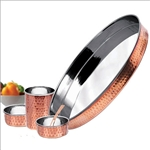 Copper Steel Dinnerware