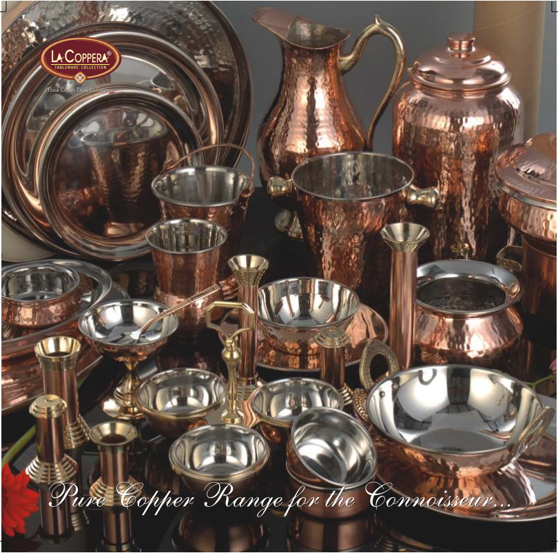 Copper Steel Dinner Ware