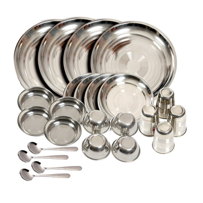 Stainless Steel Dinner Ware